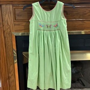 Claire & Charley smocked dress